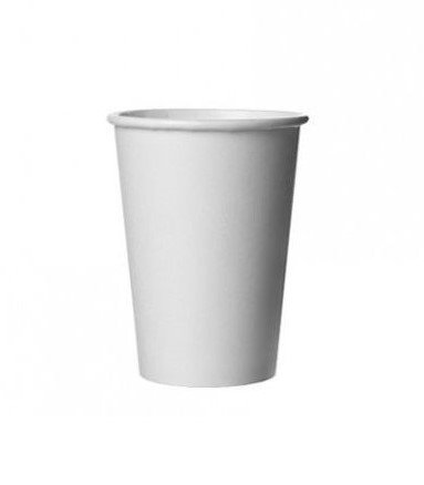 Douwe Egberts Kartonnen koffiebekers 180 ml   Wit   2000 stuks