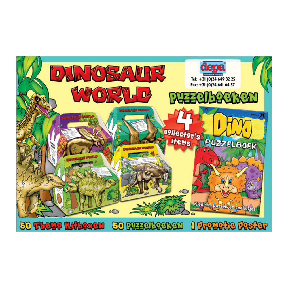 Kidsbox Dinosaur 50 stuks