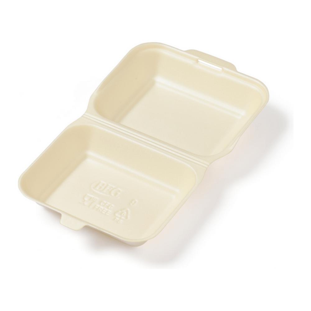 Lunchbox Beige 4 x 125 stuks