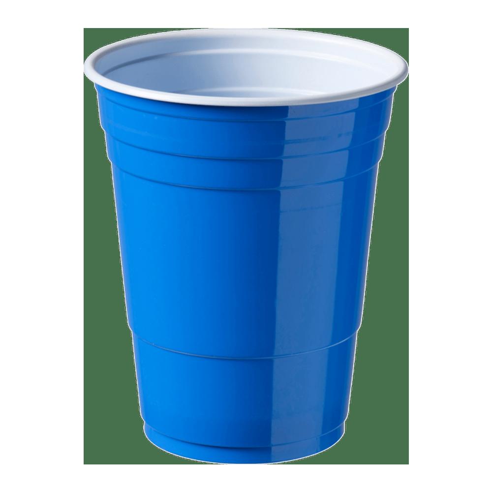 Party Cup blauw 400 ml 20 x 50 stuks