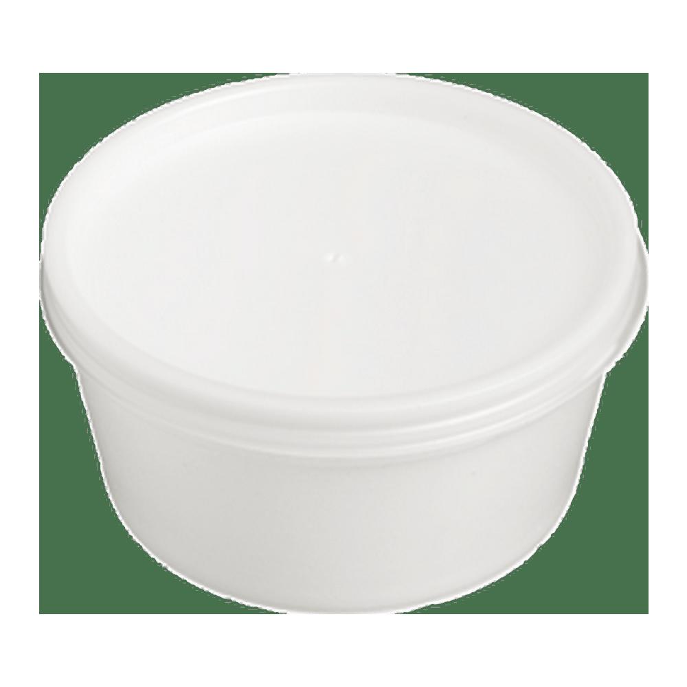 Foampot met deksel 230 ml 10 x 50 stuks