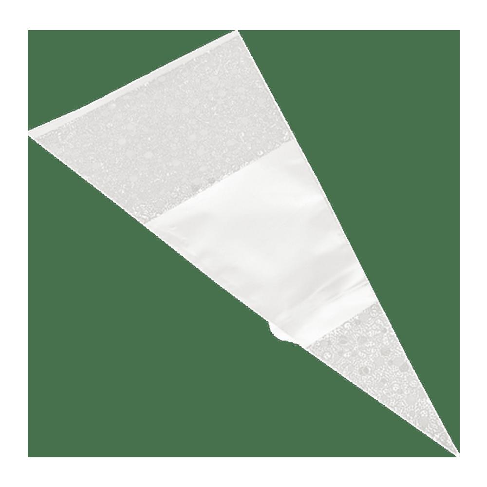 Puntzak   Wit   18 x 37 cm   1000 stuks