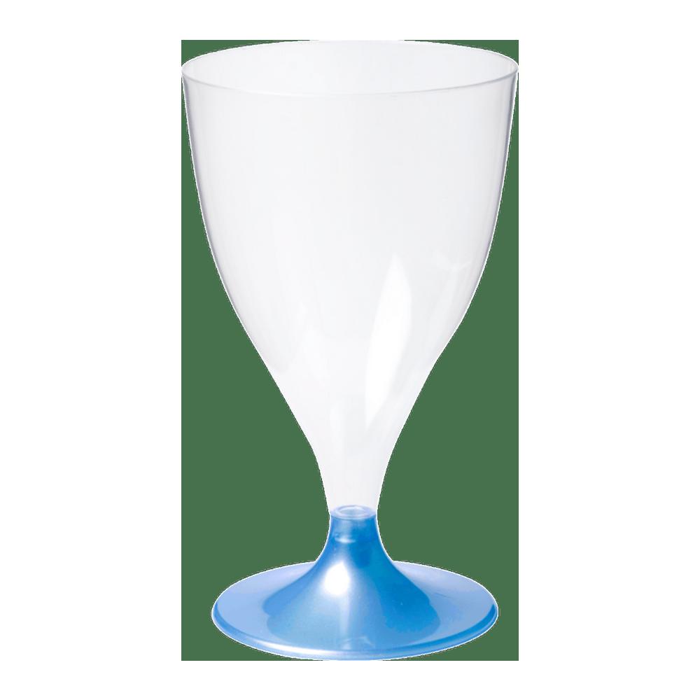 Wijnglas 160 ml Blauw 20 x 20 stuks