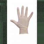 Comfort Handschoen Latex  gepoederd M wit