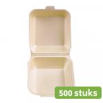 Hamburgerbak Groot 500 stuks