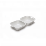 Hamburgerbox 135 x 135 x 70 mm wit