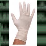 Comfort Handschoen Latex  ongepoederd S wit