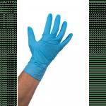 Comfort Handschoen Nitril ongepoederd M blauw