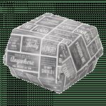 Pubchalk Bak Karton en coating 120 x 120 x 100 mm wit-grijs 400 stuks