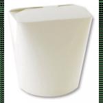 Oosterse maaltijdbak wit 260 OZ 750 ml 10 x 50 stuks