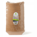 Biodore® Schaal conisch bakje Kraft en PLA 86 x 137 mm