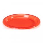 Bord rood 15 x 10 stuks