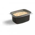 Cup met deksel 250 ml zwart 100 stuks