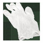 Handschoen Vinyl gepoederd  XL