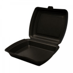 Menubox  1-vaks zwart 2 x 100