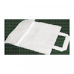 Papieren Draagtas wit 22 x 10 x 28 cm