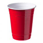 Party Cup rood 400 ml 8 x 15 stuks