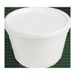 Foampot met deksel 460 ml 5 x 25 stuks
