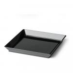 Amusebord 130 x 130 ml zwart 4 x 50 stuks