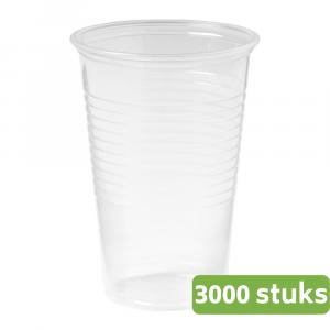 Drinkbeker | Transparant | 200 ml | Doos 300 stuks