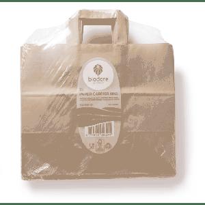 Biodore papier draagtas 10 x 25 stuks