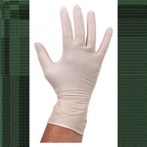 Comfort Handschoen Latex  ongepoederd  M wit