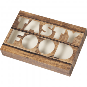 Depa Cateringdoos Tastyfood Karton bruin 5 x 10 stuks