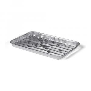 Aluminium Grillschaal 34 x 23 cm 50 stuks