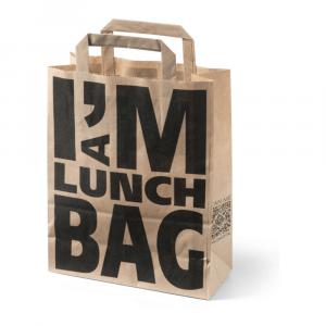 Draagtas I'm a Lunch Bag 2 x 100 stuks