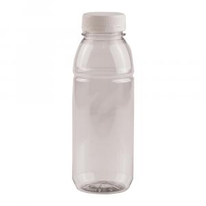 Fles  met dop verzegelbaar 330 ml 4 x 20 stuks