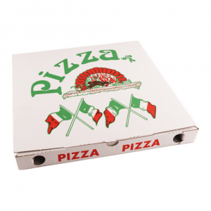 Pizzadoos 32 x 32 x 3 cm 50 stuks