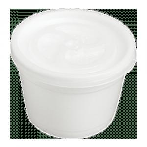 Foampot met deksel 120 ml 20 x 50 stuks
