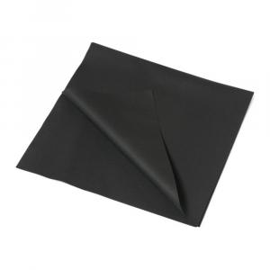 Tafelkleed Airlaid 80 x 80 cm zwart